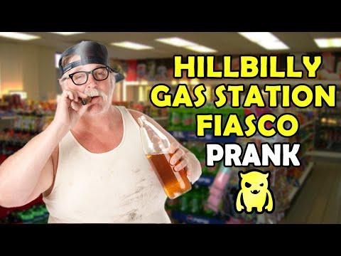 Hillbilly Gas Station Fiasco Prank - Ownage Pranks