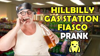 Hillbilly Gas Station Fiasco Prank - Ownage Pranks