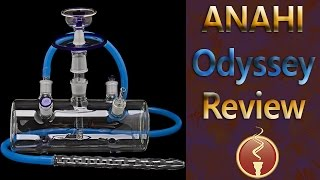 Anahi Odyssey Glass Hookah Review