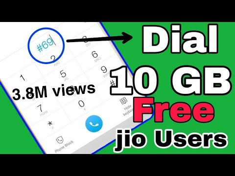 How to get free 10 GB internet from jio sim | jio provides emergency data back up | How to redeem