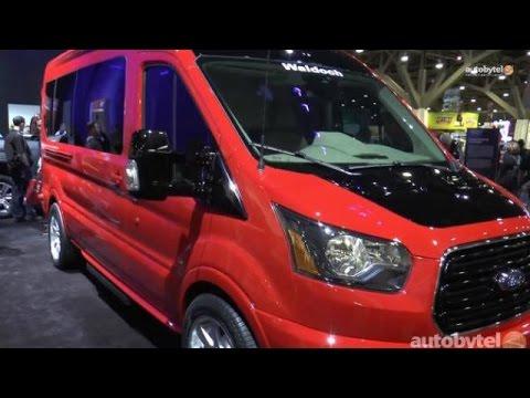 Customized Ford Transit Vans at SEMA 2014 - VANdimonium!