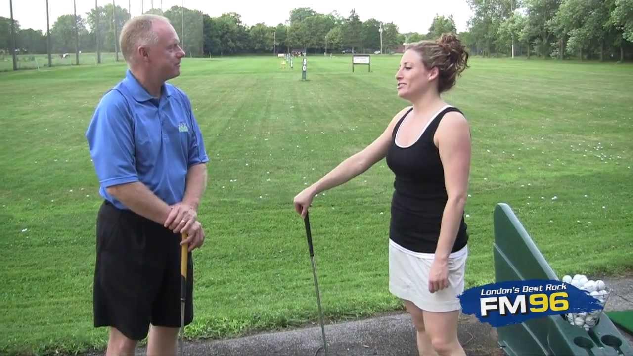 Golf Swing Mechanics: Sarah Burke Learns Golf: Lesson 2