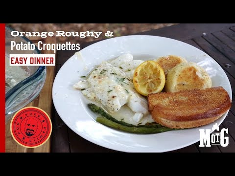 Orange Roughy And Potato Croquette Dinner