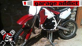 125 dans le cadre d'une 85 cr/ motorcycle engine swap