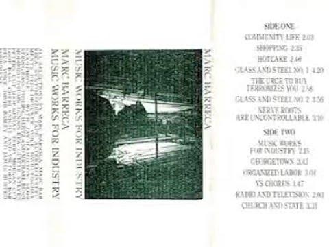 Marc Barreca - Music Works For Industry (1983) [Full Album]