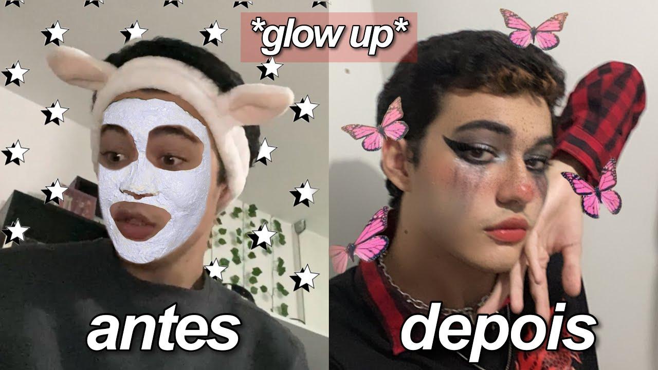 o quanto eu consigo mudar minha aparência? *GLOW UP*