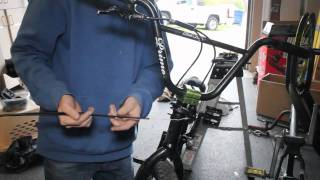 how to install a gyro brake system bmx