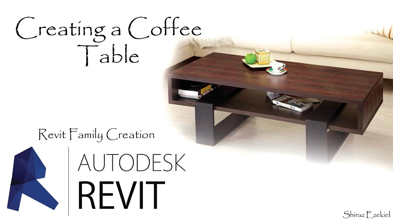 Family Creations Creating A Coffee Table In Revit 2018 Youtube