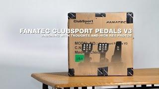 Fanatec ClubSport Pedals V3 Unboxing