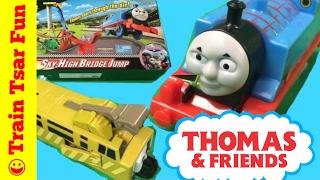 Sky High Bridge Jump! Thomas The Tank Engine Track Master
