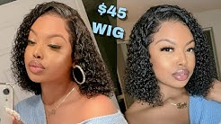 45$ MUST HAVE CURLY WIG FOR THE SUMMER - Premium Lace Wig