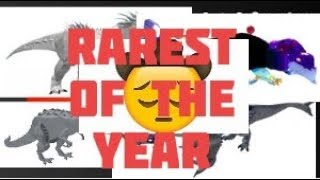 Roblox Dinosaur Simulator Rarest Skins of the Year Dino sim Music Video Ft Old town road