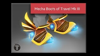 Dota 2 Tinker Mecha Boots Travel MK III