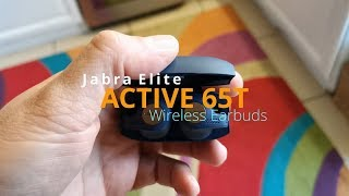Sports Earphones for the Serious Runners - Jabra Elite Active 65t review