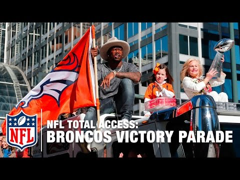 Broncos Victory Parade & Rally Highlights   Super Bowl 50   NFL Total Access