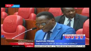 Witnesses testify against NLC Chairperson Mohammed Swazuri