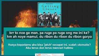 Easy Lyric SEVENTEEN - GETTING CLOSER by GOMAWO [Indo Sub]