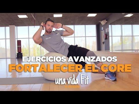 EJERCICIOS AVANZADOS PARA FORTALECER EL CORE - Curro Hernández