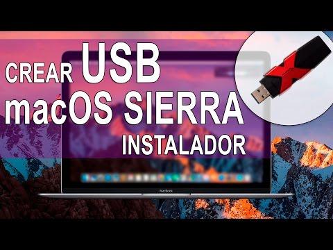 Instalar MacOS Sierra Desde USB | Crear USB Booteable