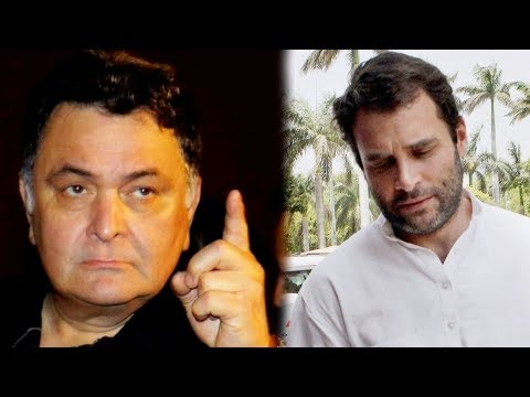 Angry Rishi Kapoor's Best Reply To Rahul Gandhi's DYNASTY Comment On Abhishek Bachchan