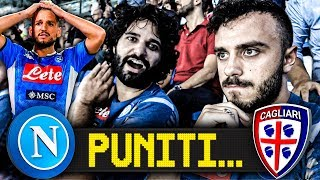 PUNITI... NAPOLI 0-1 CAGLIARI | LIVE REACTION SAN PAOLO HD