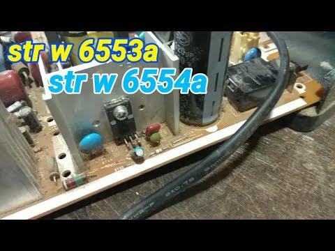 Str w6553a = str w6554a tv Sharp slim 21 inch