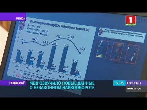 МВД озвучило новые данные о незаконном наркообороте