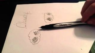How to draw cloudy