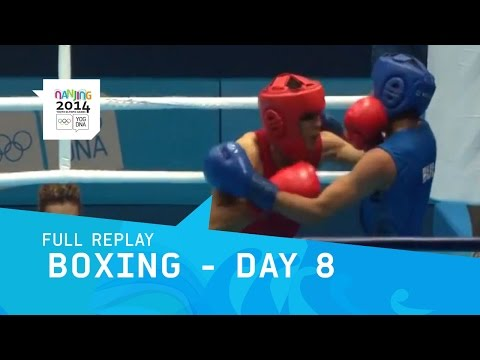 Boxing - Mens Semi Finals | Full Replay | Nanjing 2014 Youth Olympic Games