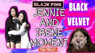BlackPink's Jennie and RedVelvet's Irene moment at Gaon Chart Music Awards 2019