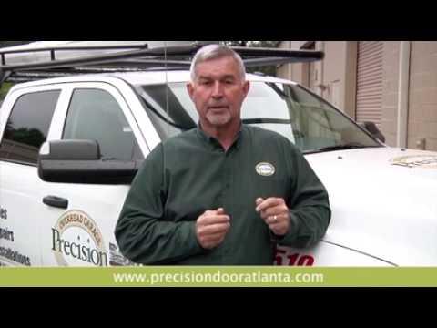 Precision Garage Door Service Youtube