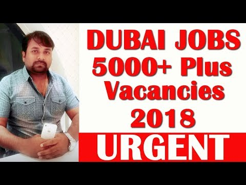 5000+ plus Dubai Jobs | HINDI URDU | TECH GURU DUBAI JOBS
