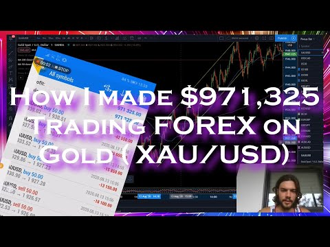 How I made $971,325 in 1 day trading FOREX on Gold (XAU/USD) – SECRET GENIUS FOREX TRADING STRATEGY