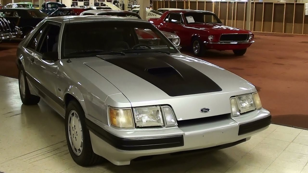 1986 ford mustang svo turbo youtube