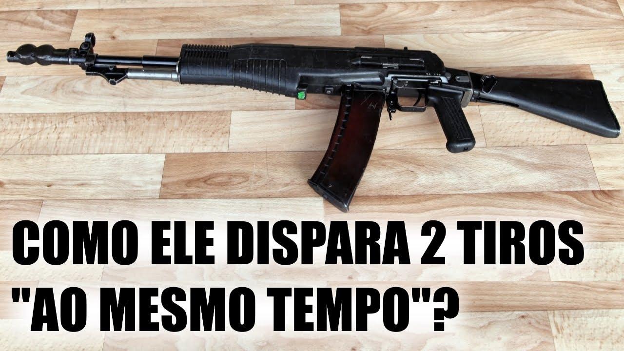 A história do fuzil AN-94 : O rival do AK47 , AKM e AK74