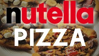 FULL JARS OF NUTELLA ON PIZZA - [THIS ONE IS FOR THE LADIES]