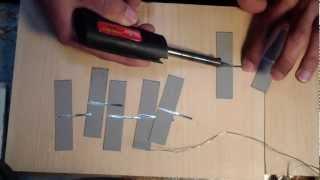 Solar Cell Soldering Pt 1 The Bottoms