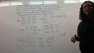 Leontif Input Output Economic Model