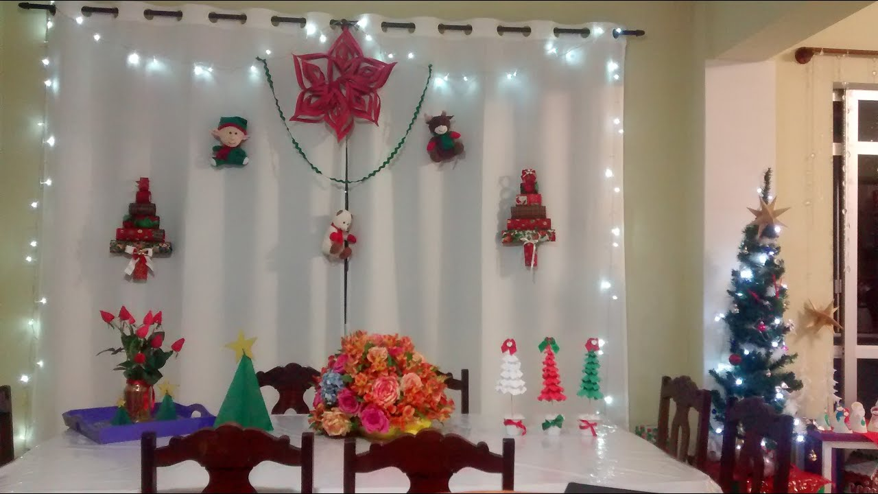 Decoracao Yotube ~ Decoraç u00e3o Natal 2015 YouTube