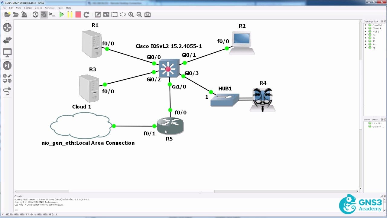 CCNA 200-125 - DHCP Snooping overview and lab - David Bombal