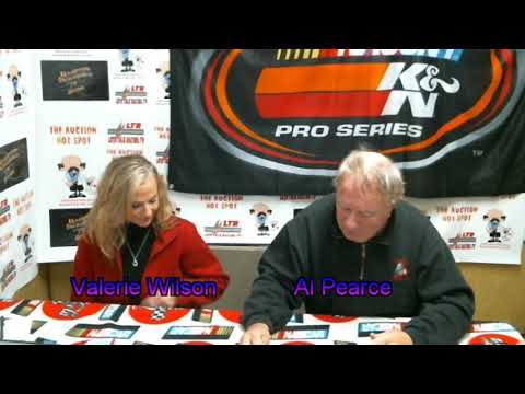 Let's Talk Racing TV  121416 Valerie Wilson, Al Pearce, & Roger Brehm