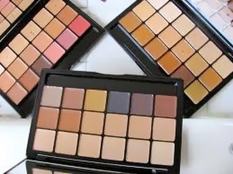 HD Glamour Creme Super Palette - Neutral by graftobian #4