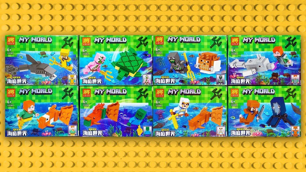 LEGO Minecraft My World Minifigures (knock-off) LELE 33242