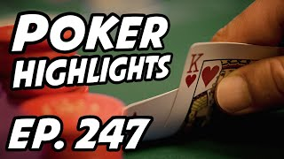 Poker Livestream Daily Highlights | Ep. 247 | LexVeldhuis, tonkaaaaP, PokerStars, yellowpaco