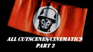 Crimes of War (?bersoldier 2) - All Cutscenes/Cinematics Part 2