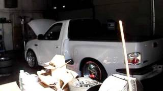 Ford lightning with a kenne bell 2 6 on the dyno by airflowresearch