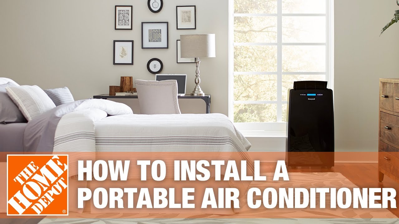 How To Install A Portable Air Conditioner Youtube