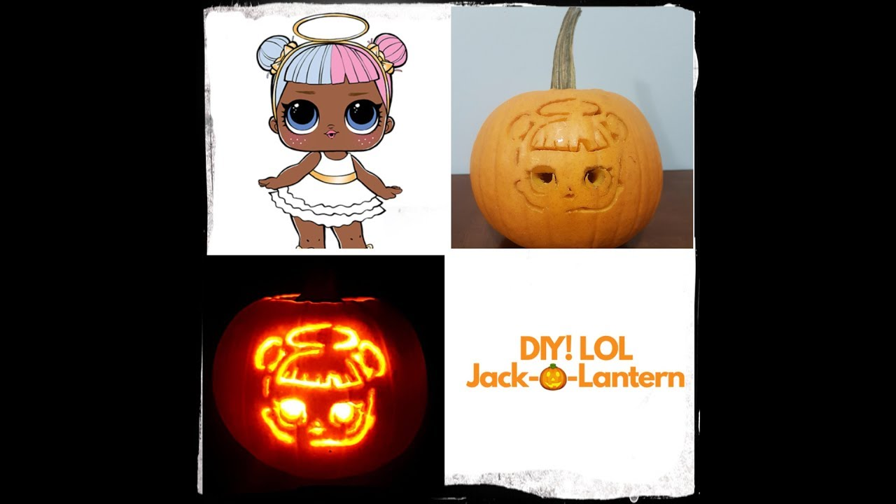pumpkin template lol doll  Pig Pattern Pumpkin Face | Hot Trending Now