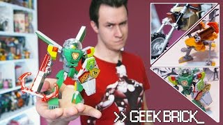 [Geek-Brick Самоделки] LEGO Nexo Knights...