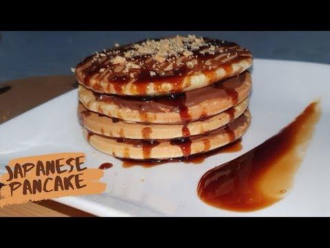 تحضير-بان-كيك-ياباني-بالنوتيلا-للفطور-خفيف-و-ناجح-مليون-في-المية- -fluffy-japanese-pancakes